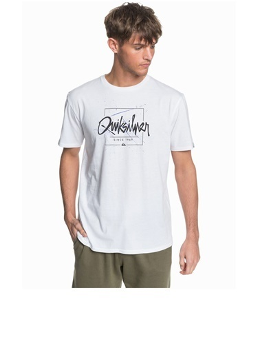 Quiksilver Tişört Never Lost Eqyzt05948-Wbb0 Beyaz